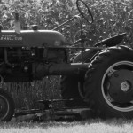 tractor old time